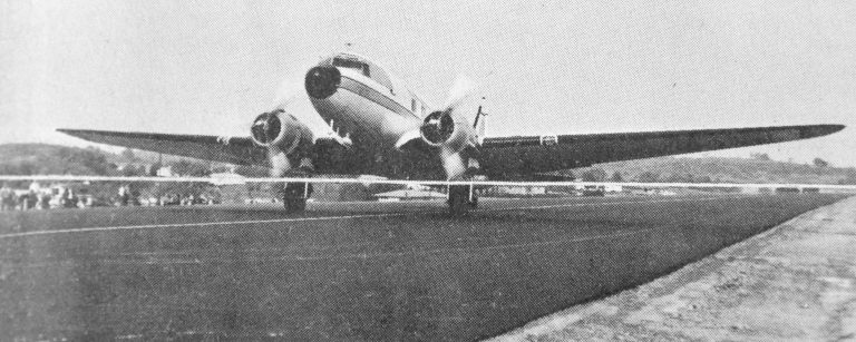Beach City Bomber pic from Airport dedication BW