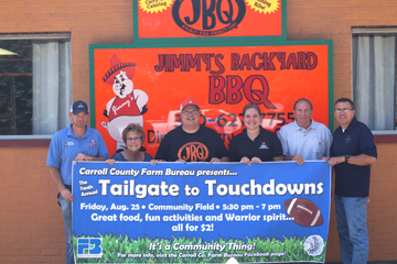 c249c878 Carroll County Farm Bureau, Carrollton FFA and Ohio FFA Camp Muskingum are  once again joining together to sponsor Tailgate to Touchdowns this Friday  prior ...