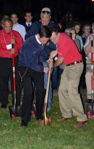 FFA Camp gr. breaking first shovel rbg
