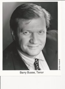 Barry Busse obit